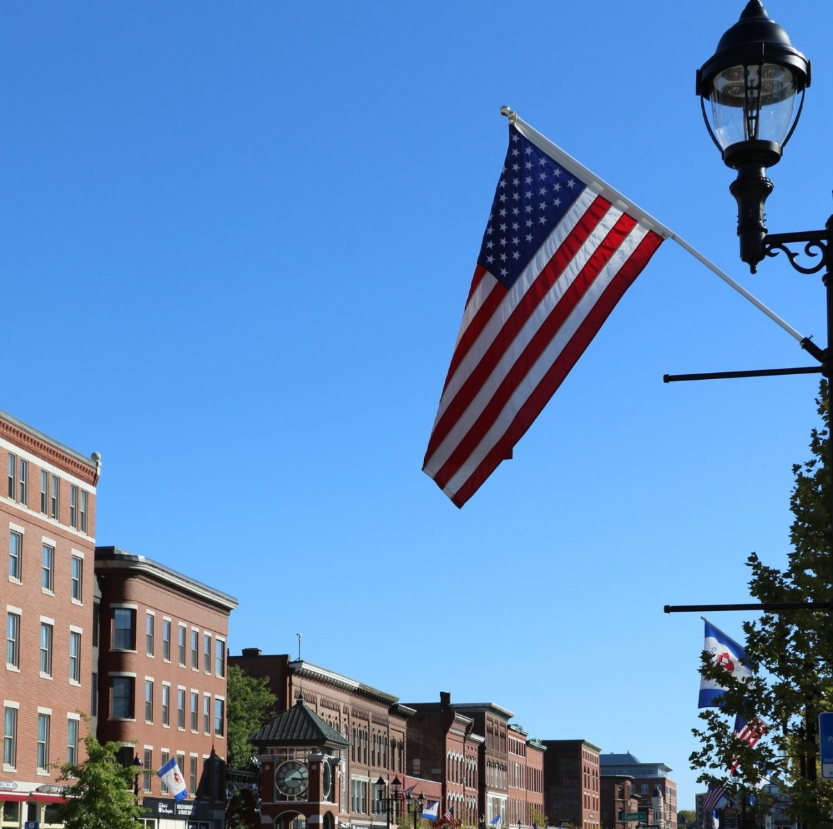 Flag in Concord