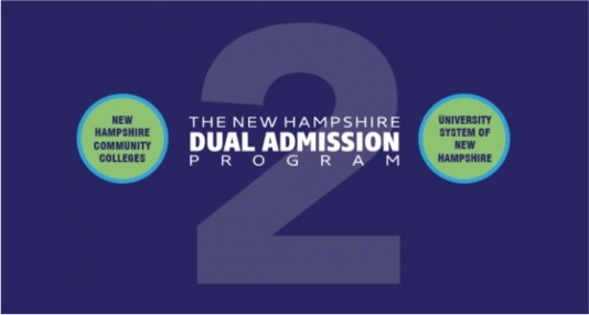 The NH Dual Admission Program logo