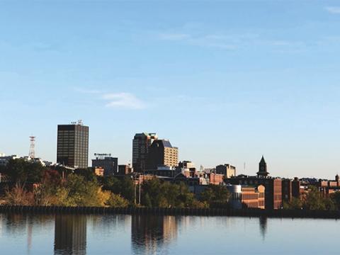 New Hampshire skyline