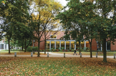 Fall at Keene State College